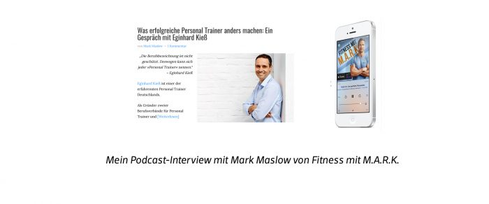 Podcast-Interview mit Mark Maslow von Marathonfitness.com