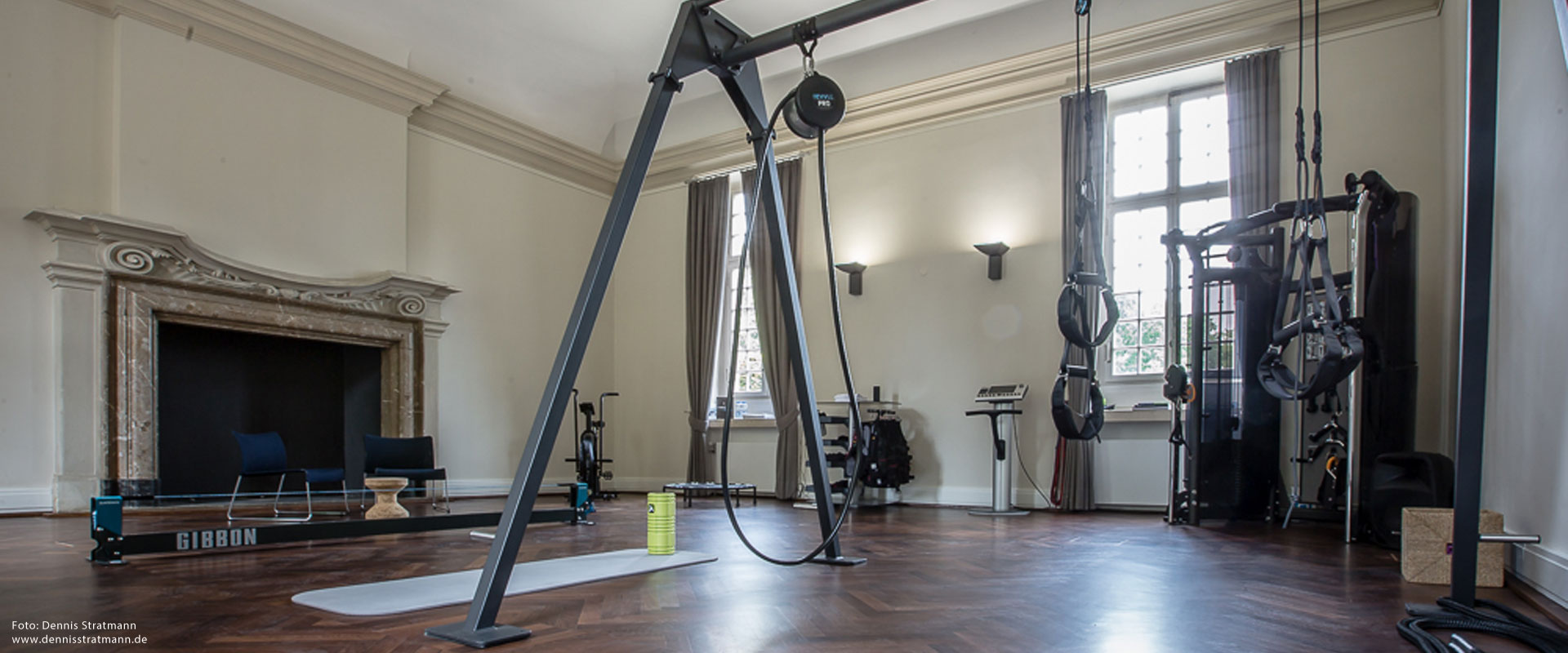 Personal Training Studio im Schloss Benrath